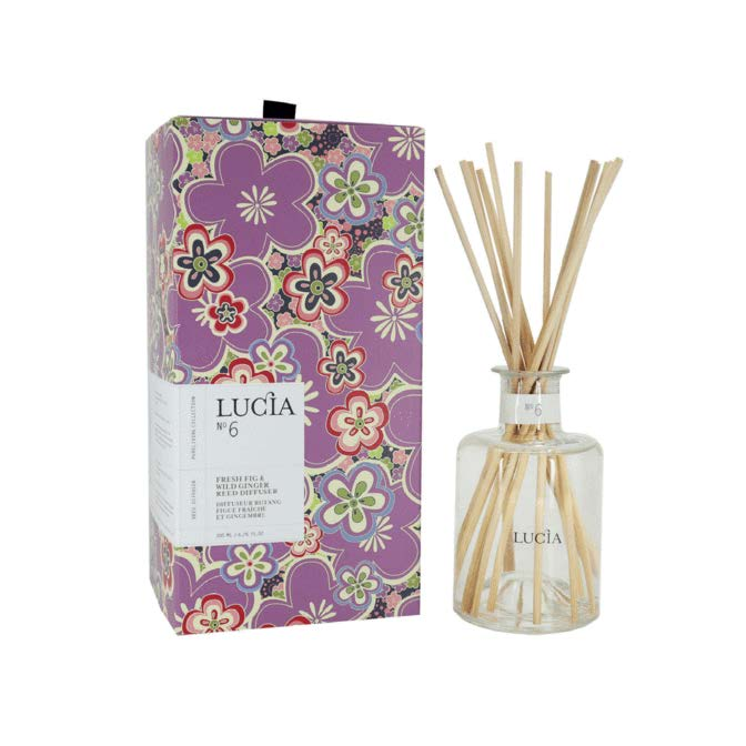 Lucia Reed Diffuser No. 6 Fresh Fig and Wild Ginger