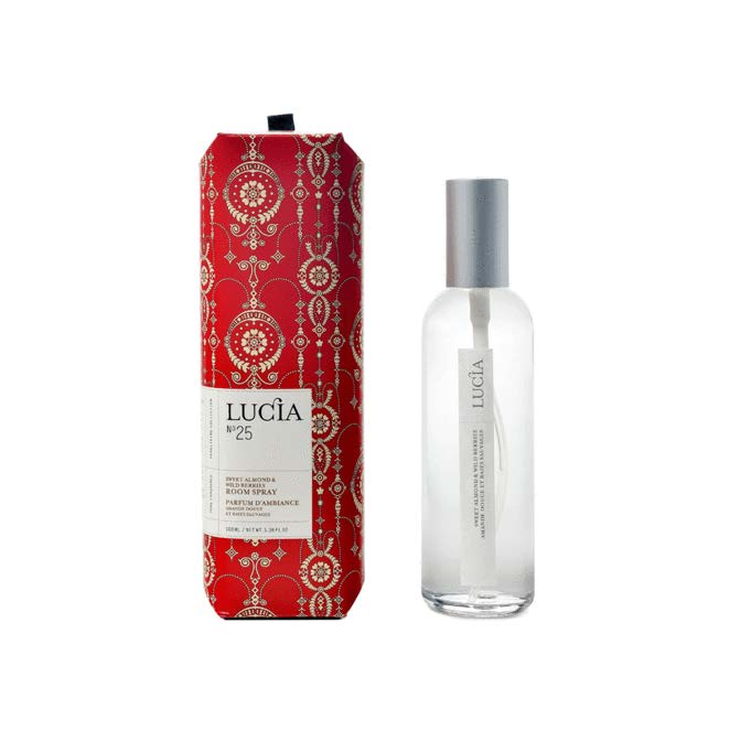 Lucia Room Spray No. 25 Sweet Almond and Wild Berries