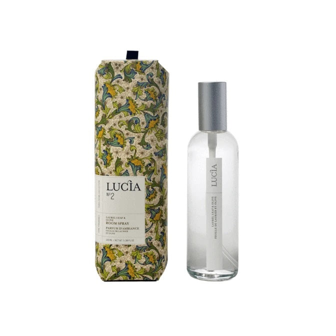 Lucia Room Spray No. 2 Laurel Leaf and Olive