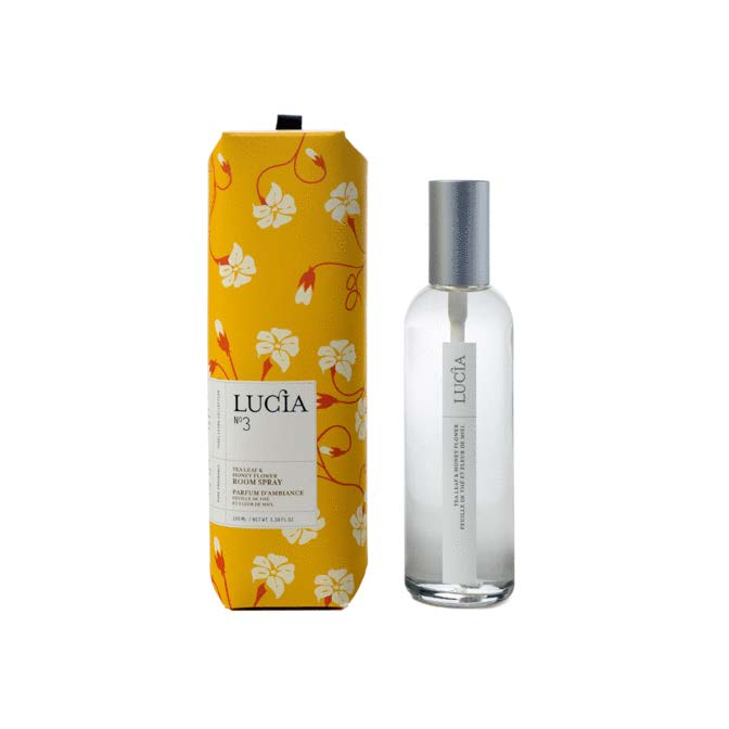 Lucia Room Spray No. 3 Tea Leaf and Wild Honey