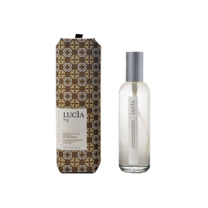 Lucia Room Spray No. 9 Bourbon Vanilla and White Tea