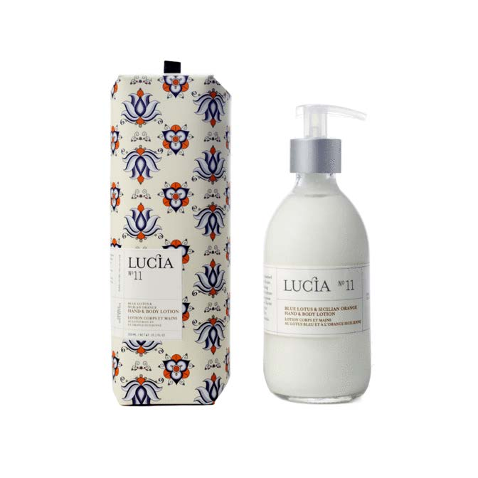 Lucia Lotion Hand and Body No. 11 Blue Lotus and Sicilian Orange