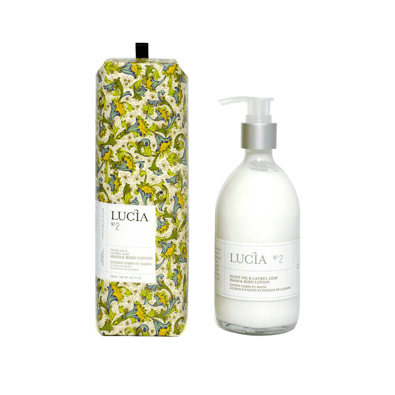 Lucia Lotion Hand and Body No. 2 Olive Oil and Laurel Leaf