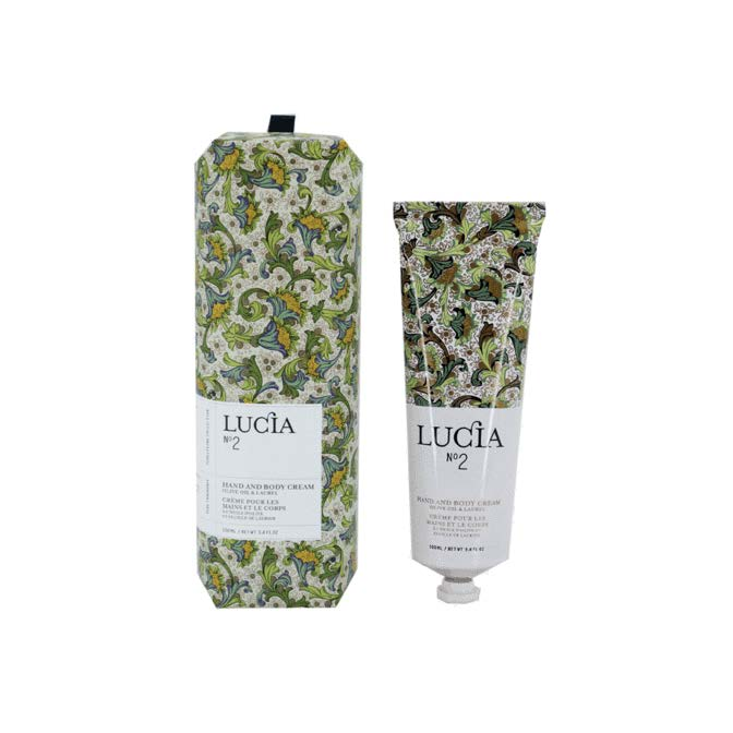 Lucia Hand Cream No. 2 Olive Oil and Laurel Leaf