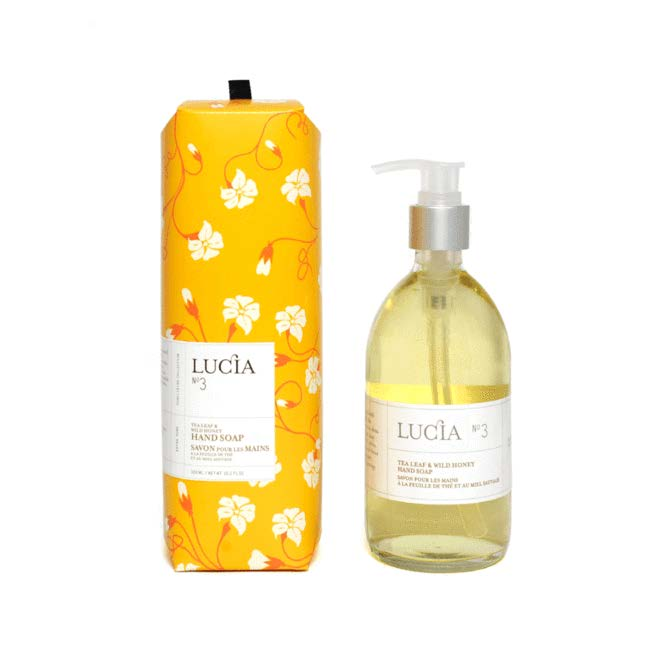 Lucia Hand Soap No. 3 Tea Leaf and Wild Honey