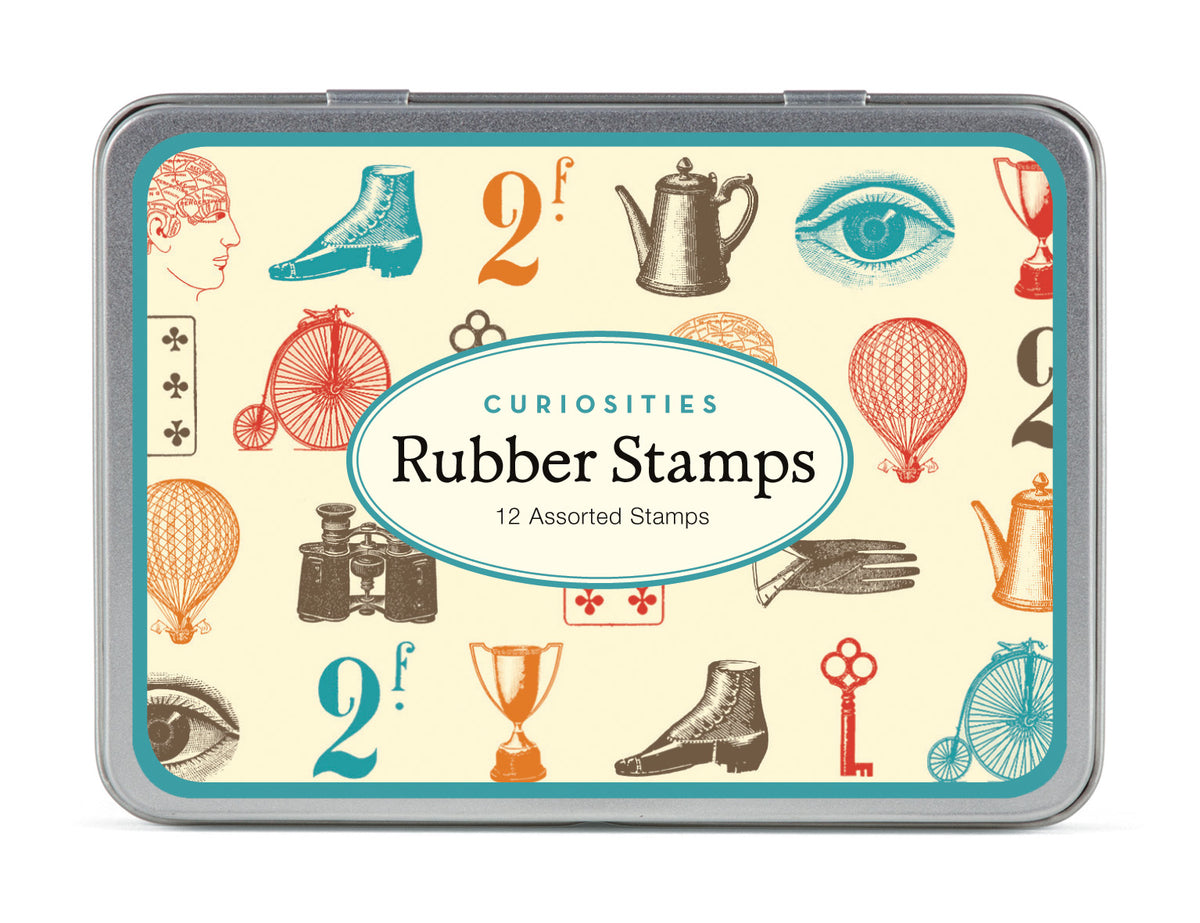 Small rubber stamp sets.