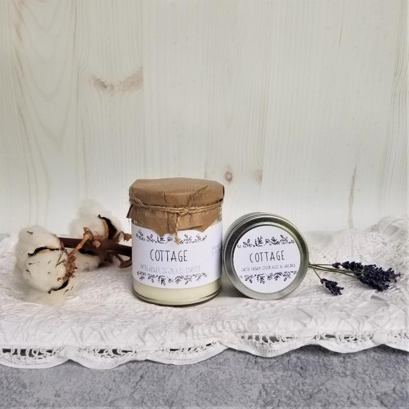 Sanctuary Soy Candle Cottage