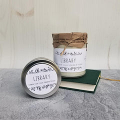 Sanctuary Soy Candle Library