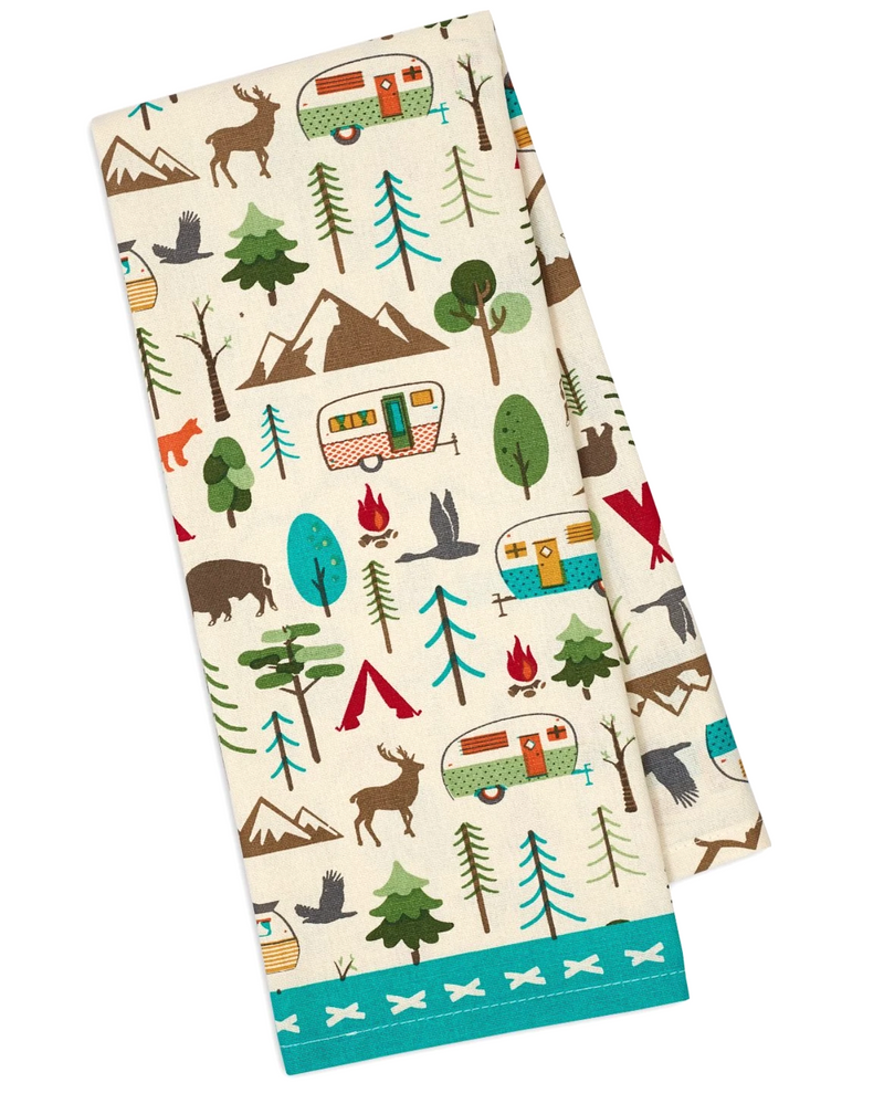 Camping Tea Towels