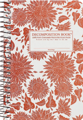 Pocket-Size Decomposition Notebooks - Sunflowers