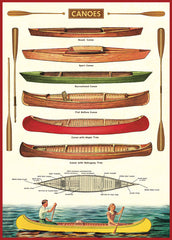 Poster Canoes