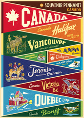 Poster Canada Pennants
