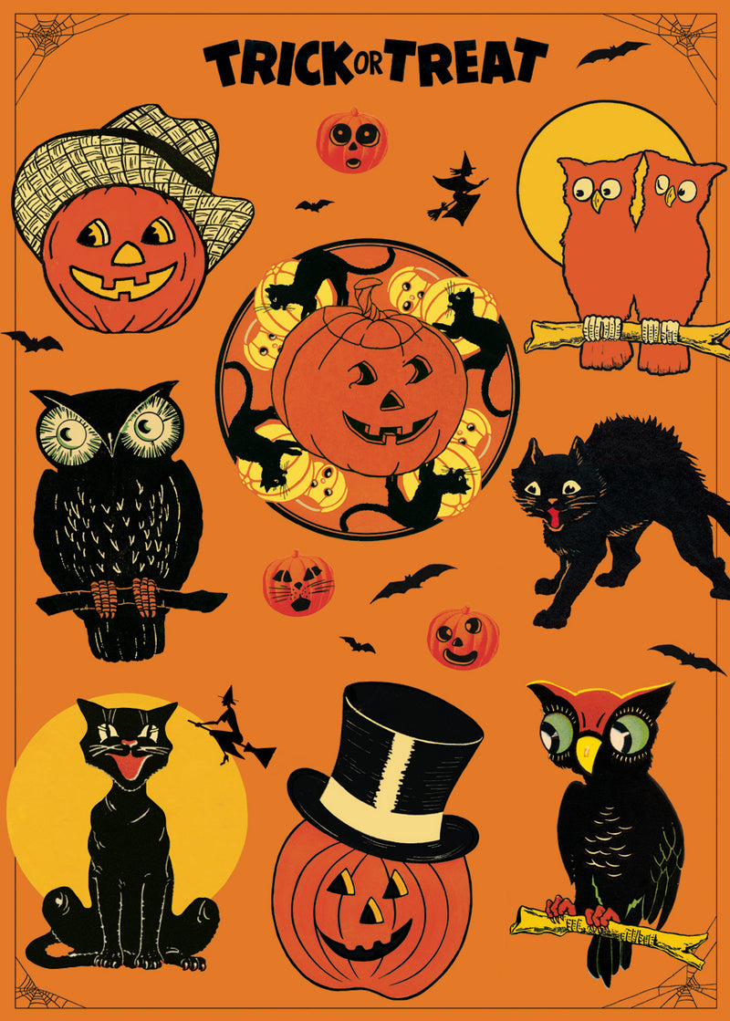 Poster. Halloween Collage