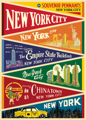 Poster New York Pennants