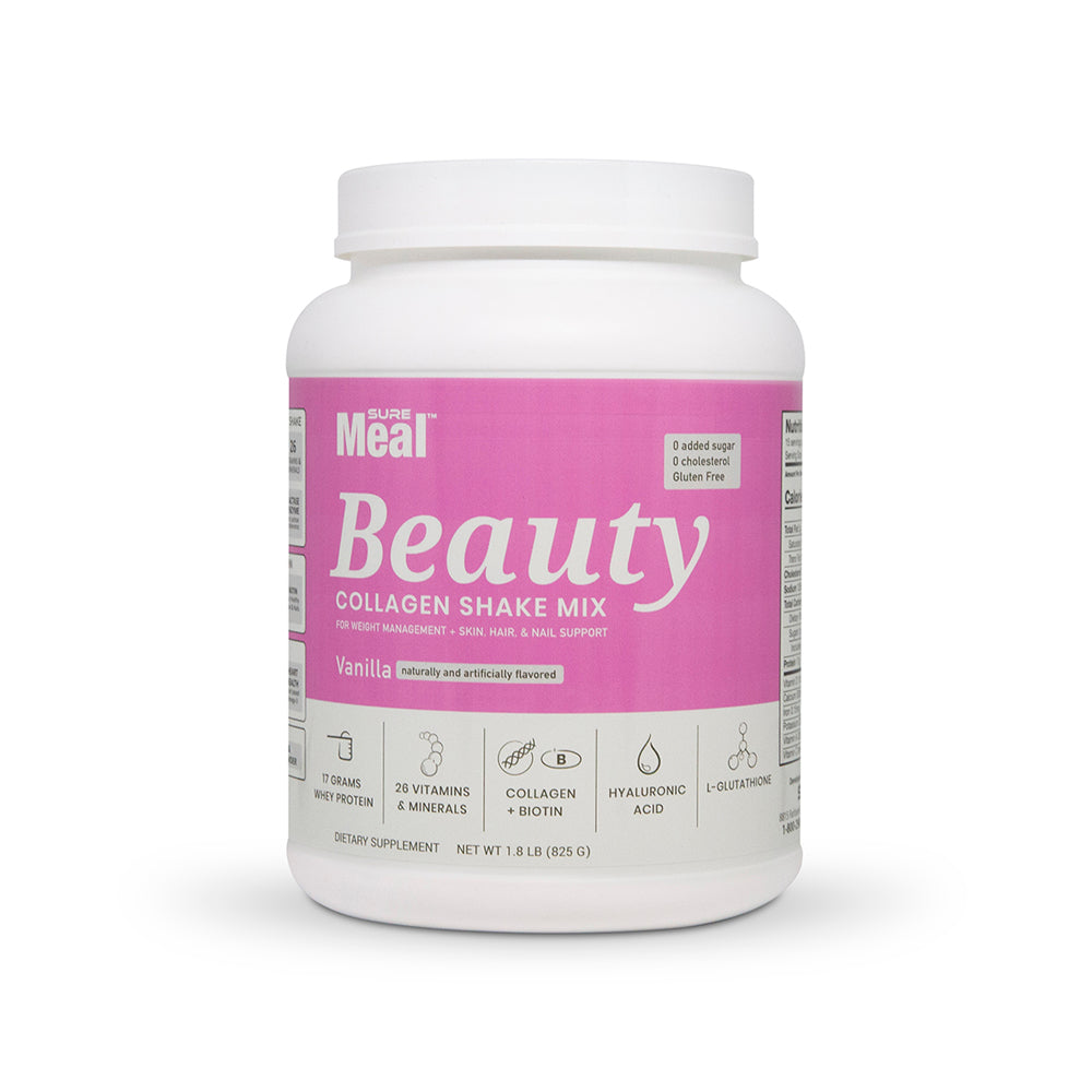 SureMeal Beauty Original Front collagen shake