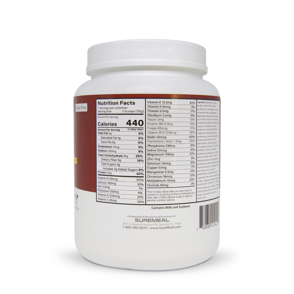 suremeal weight gainer protein malnourished
