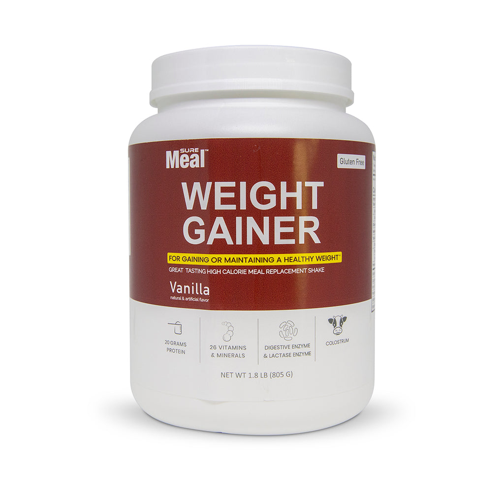 sure meal weight gainer protein shake
