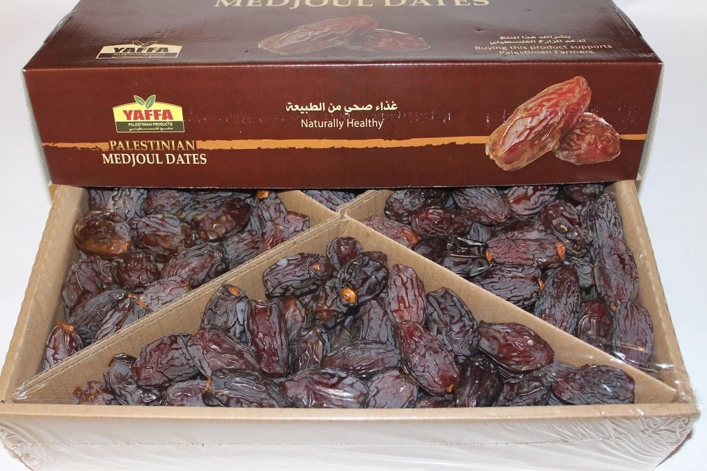 Palestinian Medjoul Dates (Jumbo) - Box of 5kg loose