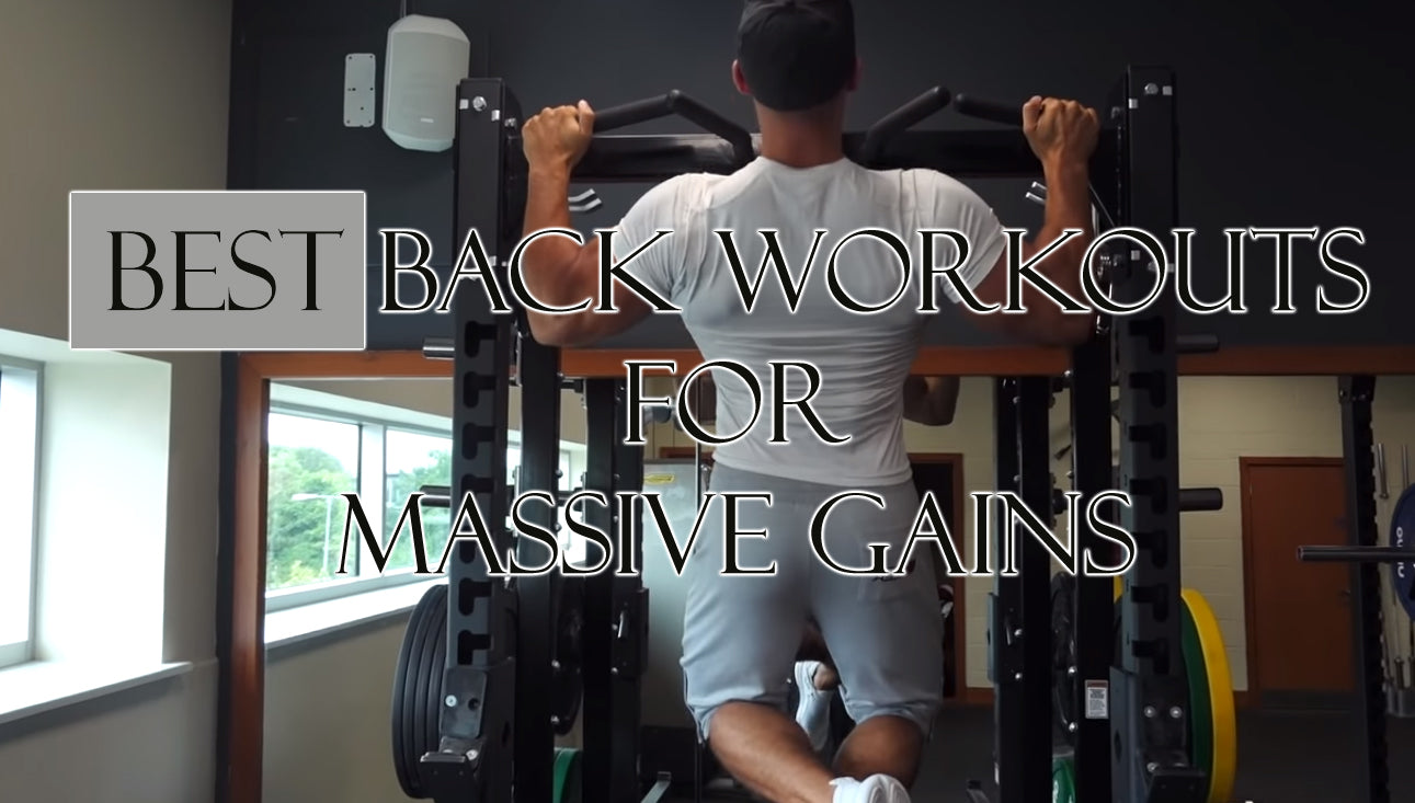Back workouts for massive gains; the 15 best back workouts.