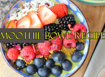 Smoothie Bowl Recipes; 10 Smoothie Bowl Recipes Sure To Knock Your Socks Off. Literally.