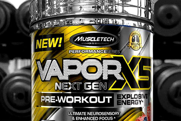 The Scoopie Reaches Agreement with Muscletech VaporX5