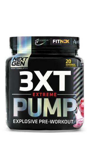 USN Pre Workout 3XT Pump The Scoopie