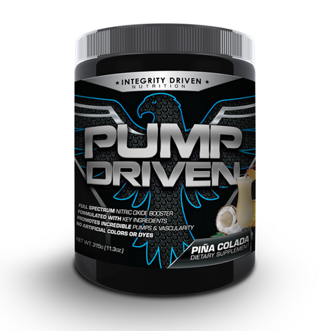 Pump Driven Integrity Driven Nutrition Pre-Workout