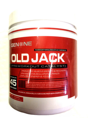 GenOne Nutrition Old Jack