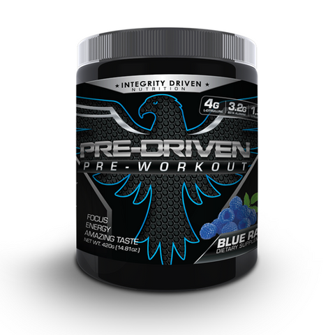 Pre-Driven Integrity Driven Nutrition Pre-Workout