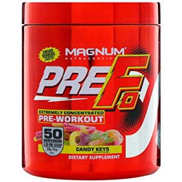 Magnum Nutraceuticals Pre F0 Pre Workout Supplement Product