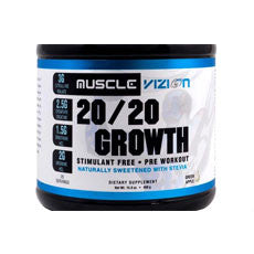 MuscleVizion 20 20 Growth