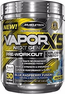 Muscletech Vapor X5 Pre Workout Supplements