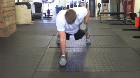 renegade row back workout