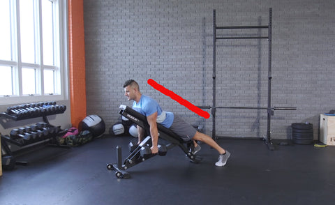 Chest supported row is one of the best back exercises you can do