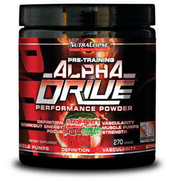 aplhadrive nutraclispe pre workout supplement