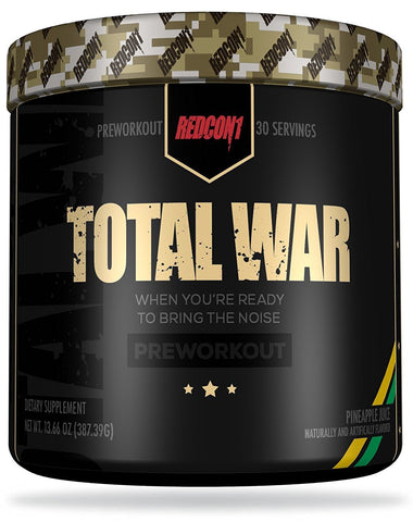Redcon1 Total War Pre Workout Supplement Product