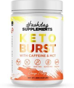 Keto Burst - BHB Kentones With Caffeine And MCT - Orange Mango