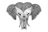 STERLING SILVER INDIAN ELEPHANT HEAD BROACH