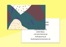 "Load image into Gallery viewer, business cards  – ""papier"""