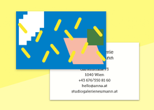 "Load image into Gallery viewer, business cards  – ""paillettes"""