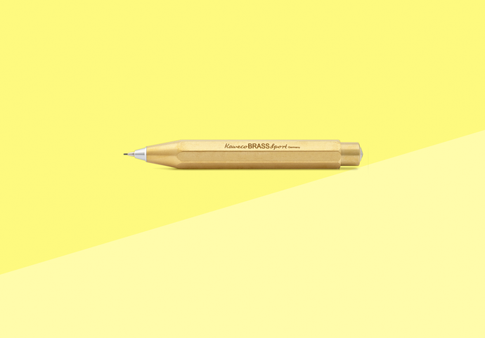 Kaweco - BRASS sport - push pencil Brass