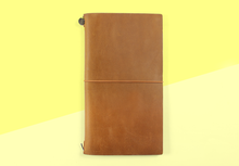 Load image into Gallery viewer, Traveler's company – camel Traveler's Notebook
