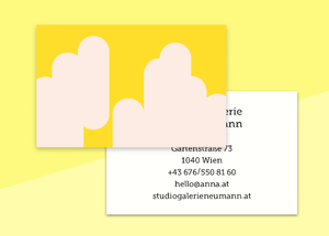 "business cards  – ""arrondi"""
