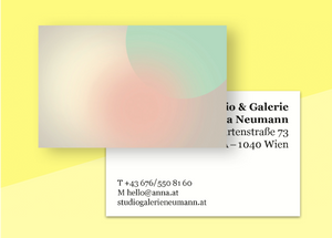 "business cards  – ""poudre"""