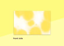 "Load image into Gallery viewer, business cards  – ""buvard yellow"""