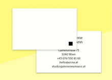 "Load image into Gallery viewer, business cards  – ""simples"""