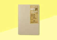 Load image into Gallery viewer, TRAVELER'S COMPANY – Traveler's Notebook Passport - 009 Kraft Paper Notebook
