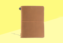 Load image into Gallery viewer, TRAVELER'S COMPANY – Traveler''s Notebook Passport - Camel