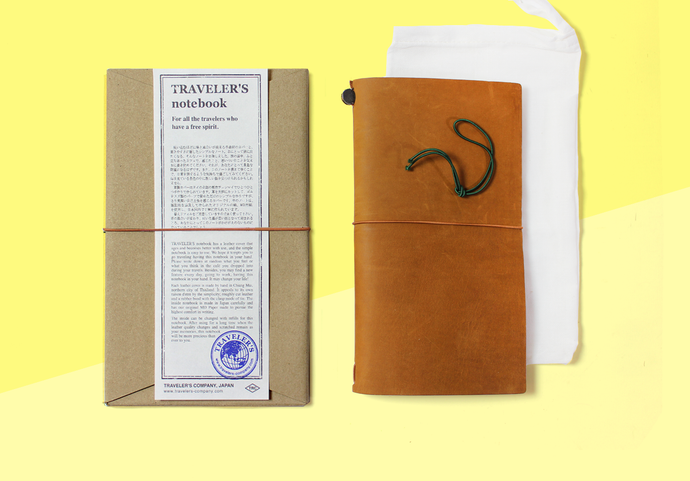 TRAVELER'S COMPANY – Traveler's Notebook Regular - Camel