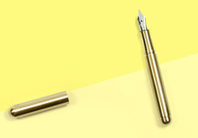 Load image into Gallery viewer, KAWECO – Liliput Fountain Pen - Brass